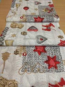 Úžitkový textil - Štóla zlatý venček - 12772339_