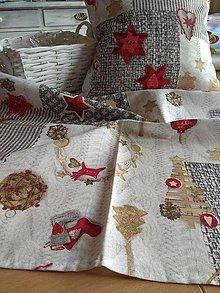 Úžitkový textil - Vankúše+obrus - 12773118_