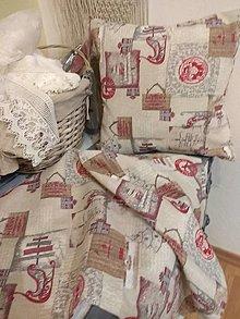 Úžitkový textil - Vankúše+ štóla - 12773140_
