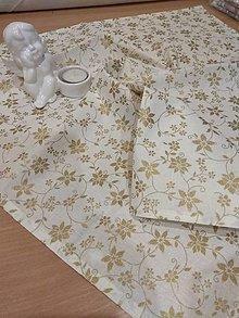 Úžitkový textil - Obrúsok vianočný - 12774224_