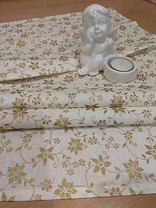 Úžitkový textil - Obrúsok vianočný - 12774260_