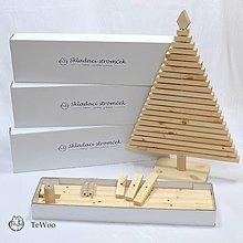 Dekorácie - Skladací vianočný stromček - 12773022_