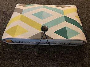 Papiernictvo - Obal na knihu - geometrik - 12773830_