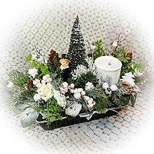 Dekorácie - Novoroční ošatka s kominíkem - 12775187_