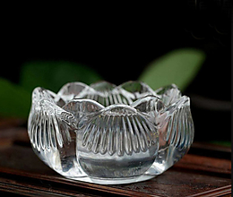 Svietidlá a sviečky - Svietnik lotos na čajovú sviečku epoxy color - 12775093_