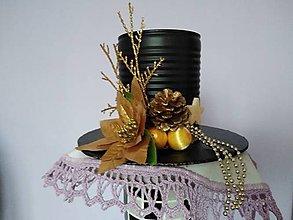 Dekorácie - Novoročný klobúk  I. - 12779233_