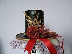 Dekorácie - Novoročný klobúk III. - 12779252_