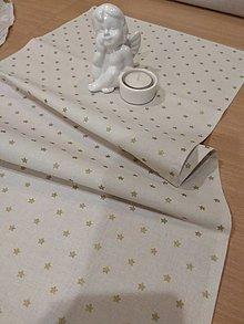 Úžitkový textil - Štóla hviezdičky - 12776604_