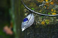 """Náhrdelníky - Nerezový náhrdelník...."""" Leaf """" - 12777994_"""