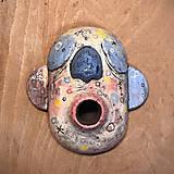 Dekorácie - Závesná maska - 12778472_