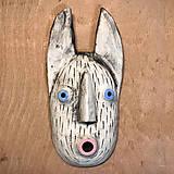 Dekorácie - Závesná maska - 12778573_
