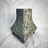 Dekorácie - Zelená váza - 12778899_