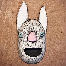 Dekorácie - Závesná maska - 12778503_