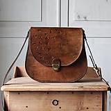 Kabelky - Kožená retro kabelka *Vintage Brown* - 12777122_