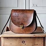 Kožená retro kabelka *Vintage Brown*