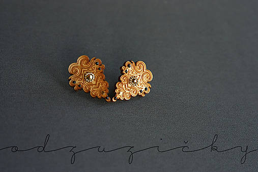 Náušničky Hana mini (Zlatá)