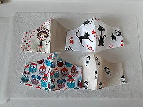 Rúška - Sada 4 dětských roušek (6-8let) - 12779607_