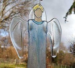 Dekorácie - Anjelská bytosť zo skla - 12781052_
