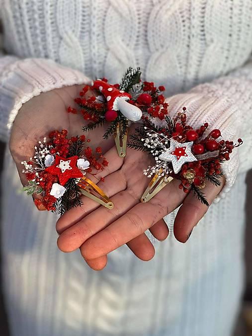 "Roztomilé pukačky ""vianočná muchotrávka"""