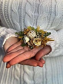 """Ozdoby do vlasov - Kvetinová gumička """"letmý dotyk slnka"""" - 12781912_"""