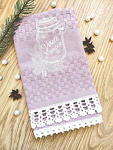 """Úžitkový textil - Utierka """"Veselé Vianoce"""" - 12780379_"""