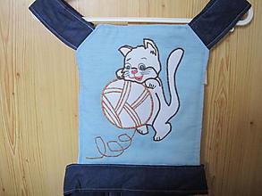 Hračky - Mačiatko- nosič pre bábiku - 12781659_