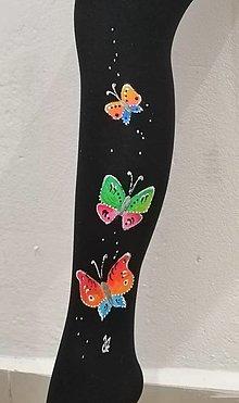 Nohavice - P - motýle - 12780084_