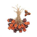 Dekorácie - Visačky na darčeky s domčekmi - 12784978_