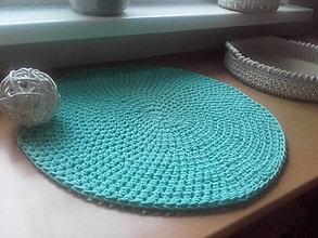 Úžitkový textil - Prestieranie Scandinavia mentolové - 12784911_