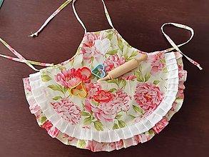 Textil - Zásterka s ružami - 12785236_