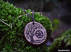 Náhrdelníky - Strom a Svarga - 12789174_