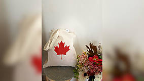 Nákupné tašky - ♥ Plátená, ručne maľovaná taška ♥ - 12789079_