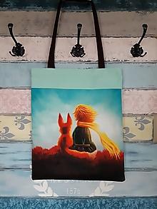 Nákupné tašky - Taška na nákupy - Princ s liškou - 12787473_