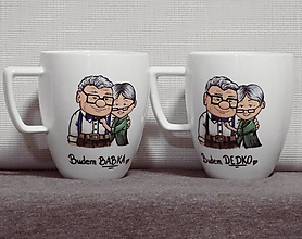 Nádoby - Z rozprávky babka s dedkom - 12789682_
