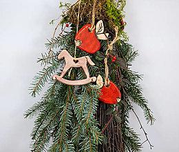 Dekorácie - Vianočný set - 12790746_