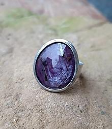 Prstene - Rubín / prsteň - 12791643_