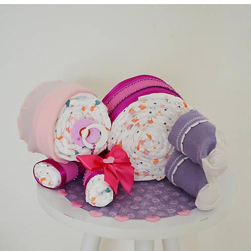 Plienková torta bábätko