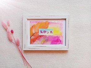 Obrazy - Obrázok LOVE - 12791344_