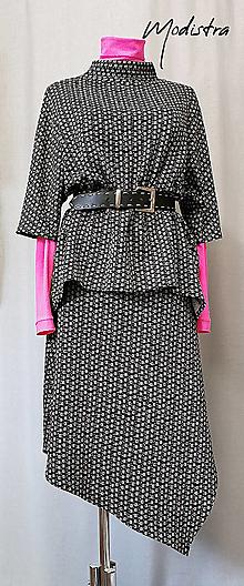 Iné oblečenie - Úpletový sukňový kostým - 12790875_