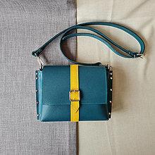 Kabelky - Lucy (zeleno žltá) - 12793210_