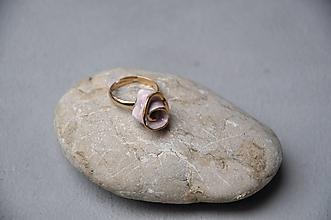 Prstene - prsteň ruža - 12793047_