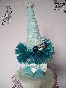 Dekorácie - Stromček modrý - 12796508_