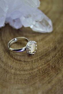 Prstene - prsteň citrín v striebre - 12794801_