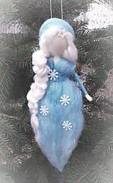 Dekorácie - Zimná dáma - 12796241_