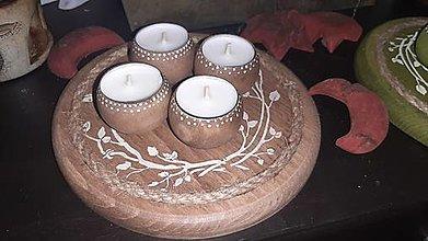 Svietidlá a sviečky - ...chalupársky - 12796432_