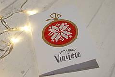 Papiernictvo - Červené Vianoce 2 - 12798098_