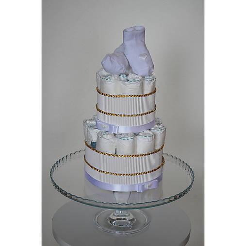 Malá plienková torta