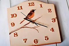 Hodiny - Keramické hodiny- Červienka - 12797008_