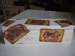 Krabičky - Krabička na čaj - 12797021_