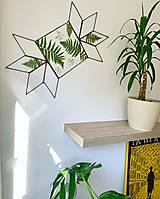 Dekorácie - Závesná dekorácia s papradím - 12797443_